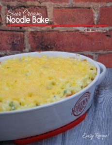 Yummy Sour Cream Noodle Bake Recipe