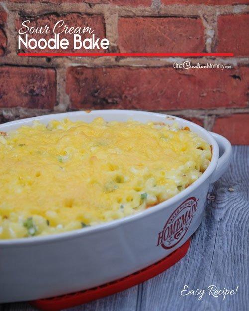 Yummy Sour Cream Noodle Bake Recipe