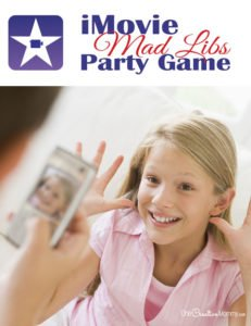 Combine Mad Libs and iMovies for the perfect party game!