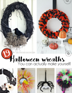 19 Easy Halloween Wreaths You Can Actually Make!
