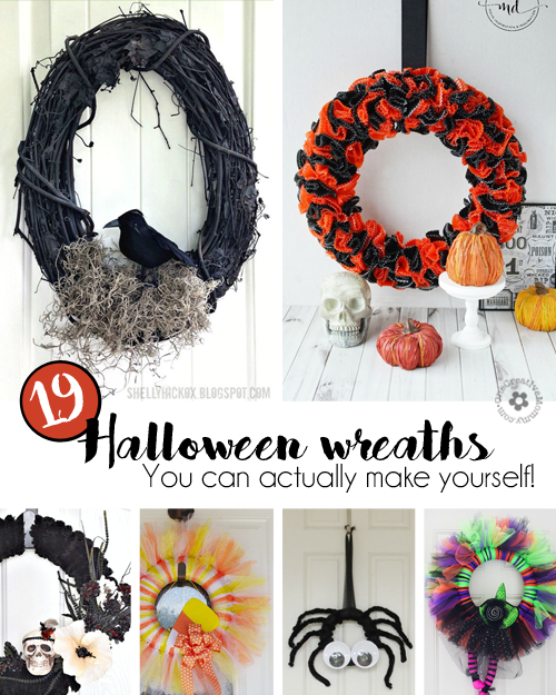 19 Easy Halloween Wreaths You Can Actually Make