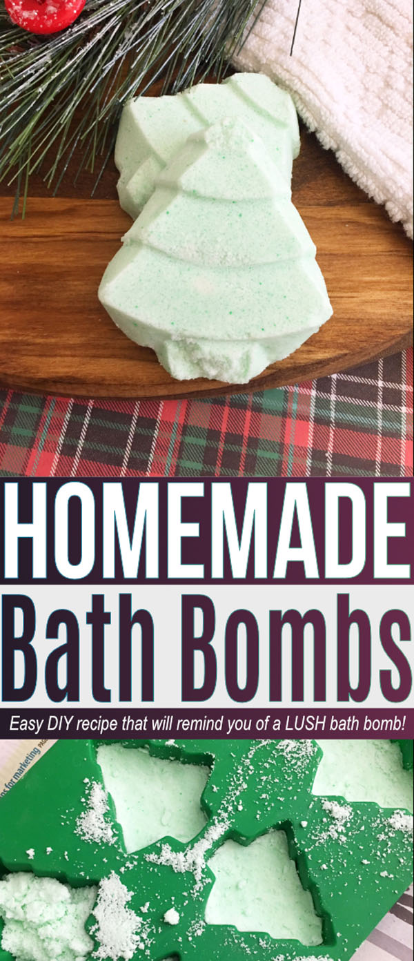 Homemade Bath Bombs from Savings Lifestyle | Featured in Best Christmas Gifts for Teachers Roundup {OneCreativeMommy.com}