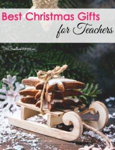 Best Christmas Gift Ideas for Teachers