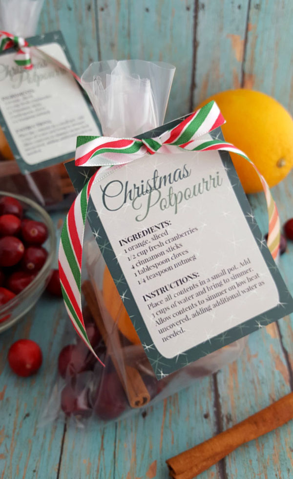 Christmas Potpourri from Thrifty Jinxy | Featured in Best Christmas Gifts for Teachers Roundup {OneCreativeMommy.com}