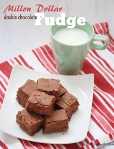 Amazing Million Dollar Double Chocolate Fudge Recipe