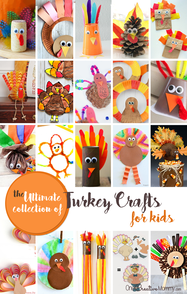 Turkey Crafts The Ultimate Thanksgiving Collection For Kids