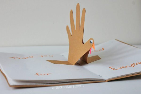 DIY Thankful Turkey Journal Project from Arts and Crackers | Featured in the Ultimate Turkey Crafts for Kids Roundup {OneCreativeMommy.com}