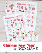 This Chinese New Year bingo game is perfect for the classroom or for fun at home. 30 unique game boards {OneCreativeMommy.com} #chinesenewyear #bingo #familyfun #printable