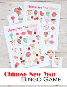 Chinese New Year Bingo Game