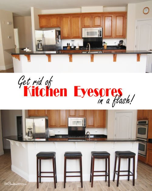 Update your home in a flash with this easy kitchen fix