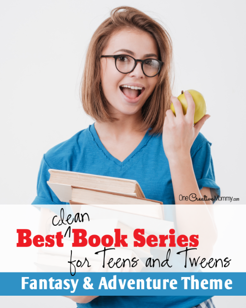 Best Clean Books for Teens and Tweens