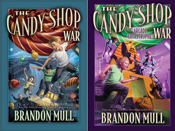 Best Clean Books for Teens and Tweens - The Candy Shop War, by Brandon Mull {OneCreativeMommy.com}