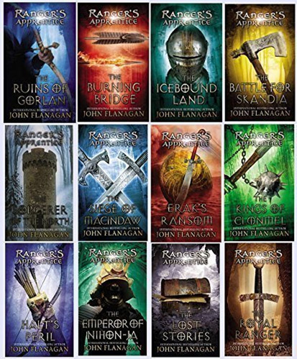 Best Clean Books for Teens and Tweens - The Ranger's Apprentice Series, by John Flanagan http://amzn.to/2pc8hEB {OneCreativeMommy.com}