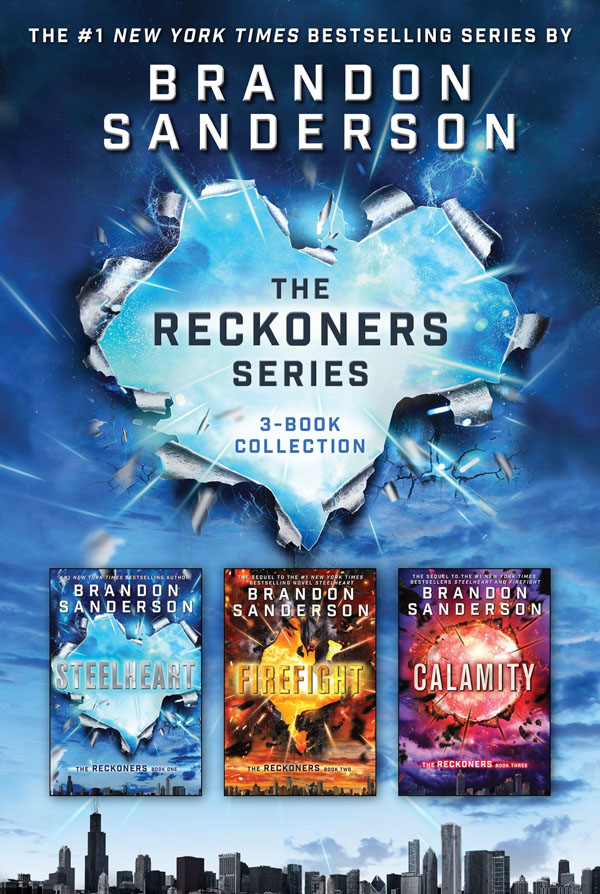 Best Clean Books for Teens and Tweens - The Reckoners Series, by Lisa Brandon Sanderson http://amzn.to/2pa2BuG {OneCreativeMommy.com}