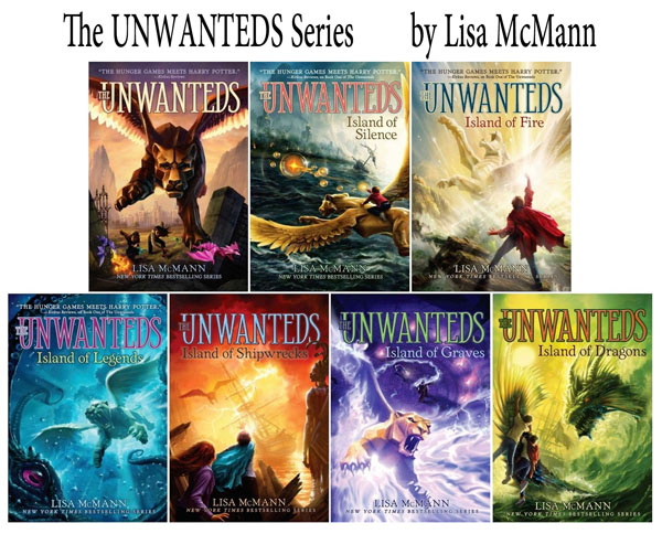Best Clean Books for Teens and Tweens - The Unwanteds Series, by Lisa McMann http://amzn.to/2tOGiiU {OneCreativeMommy.com}