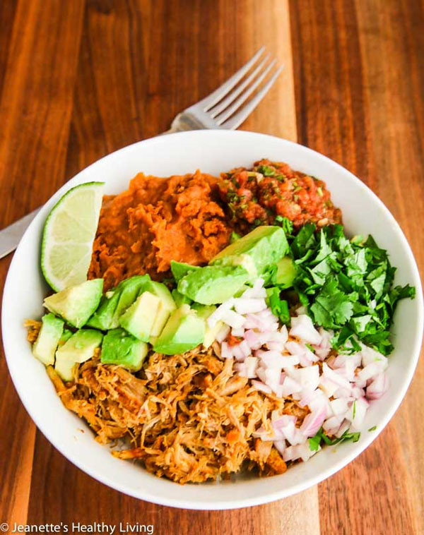 Instant Pot Columbian Shredded Pork Recipe from Jeanette's Healthy Living | Featured in Amazing Dairy & Gluten Free Instant Pot Recipes Roundup {OneCreativeMommy.com} #instantpot #dairyfree #glutenfree #pressurecooker