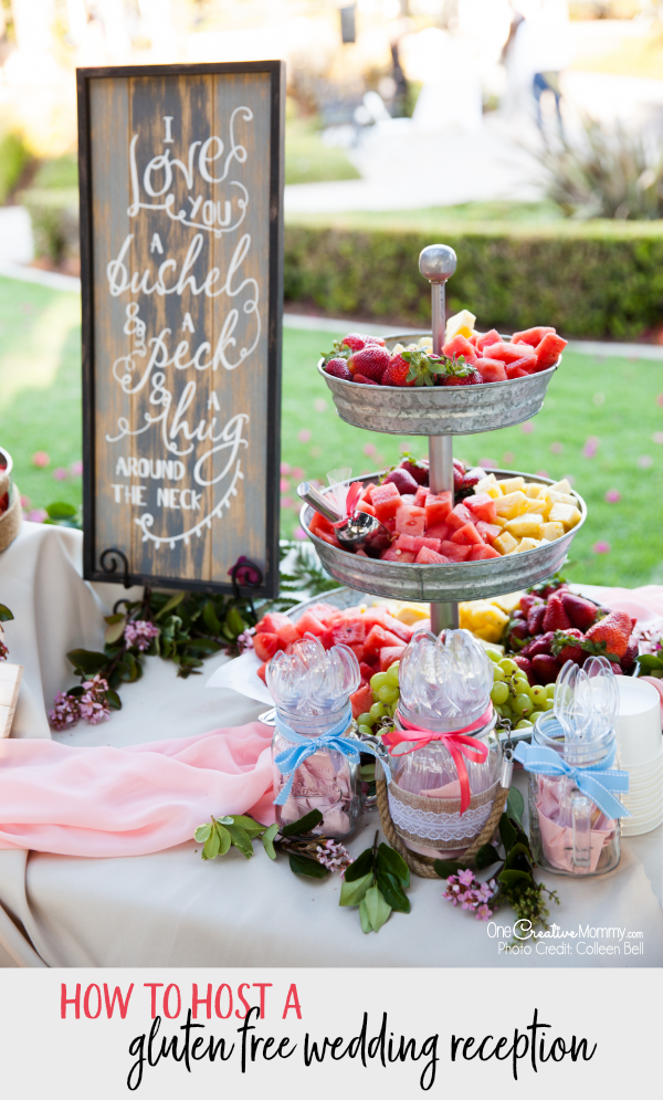 The Secret To An Amazing Gluten Free Wedding Reception