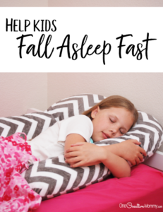 The simplest way to help kids fall asleep fast
