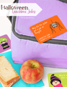 Got kids? Wow them with Halloween lunchbox jokes!