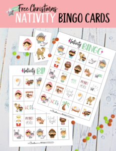 Free Nativity bingo game just in time for Christmas!