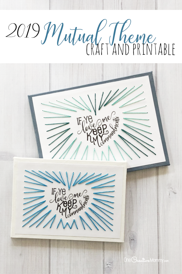 image relating to Printable Craft named 2019 Mutual Concept Craft and Printables