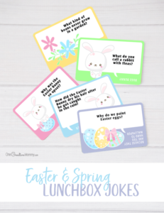 Free Easter Lunchbox Jokes for Kids