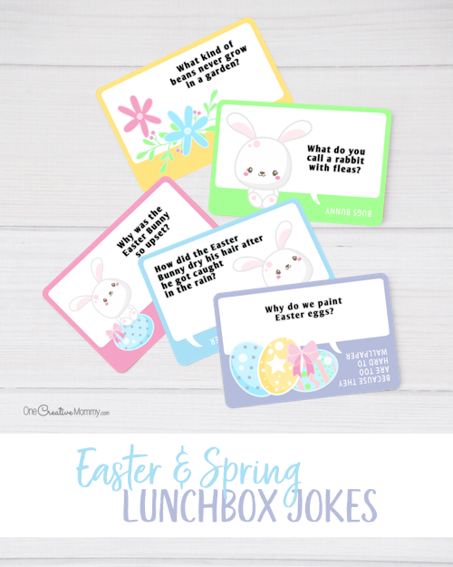 Free Easter Lunchbox Jokes for Kids