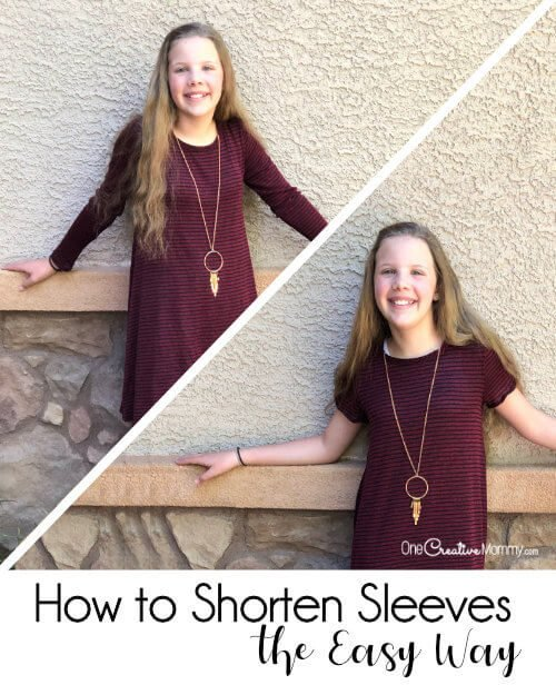 How to Shorten Sleeves the Easy Way