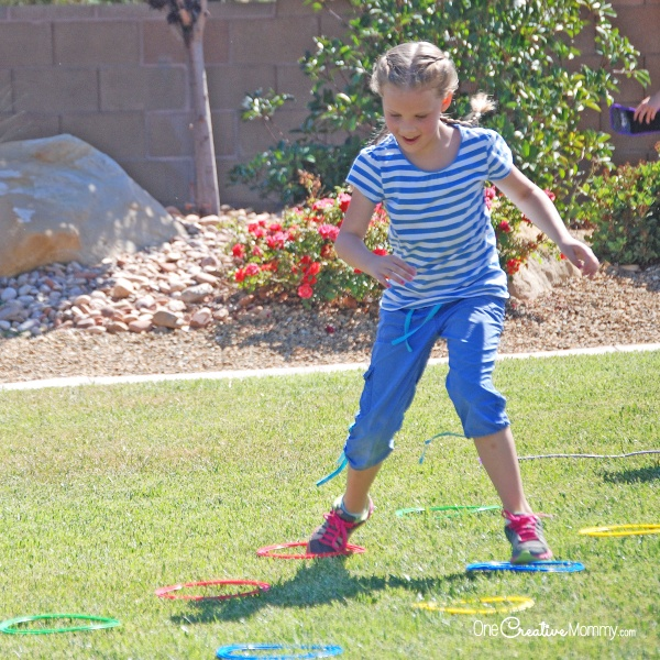 Keep kids active during the quarantine with a backyard obstacle course