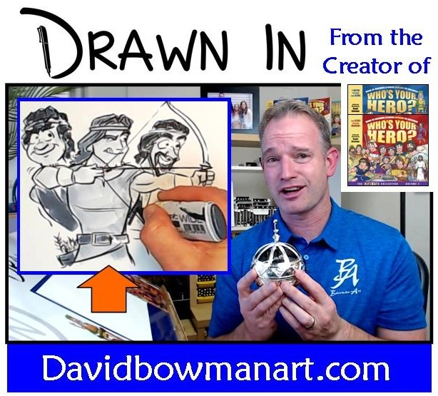 Drawn In video series for Come Follow Me - Fun for the whole family! #scripturestudy #lds #bookofmormonstories #drawnin #comefollowme