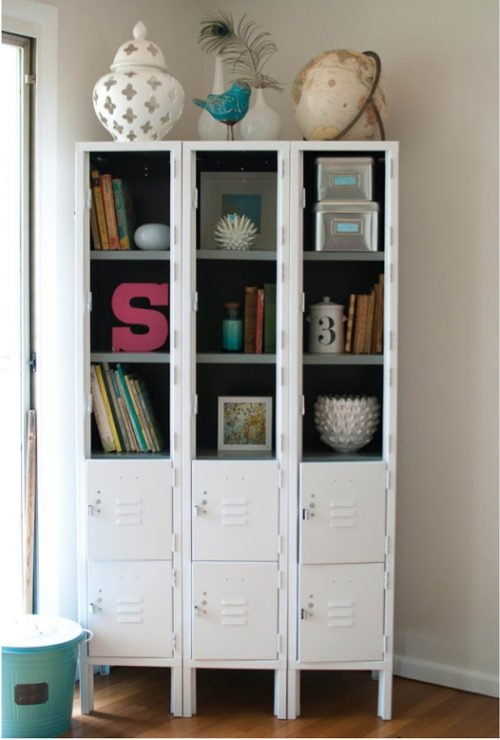 Gorgeous locker makeover by Caught in Grace
