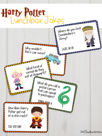 Free Harry Potter Lunchbox Jokes