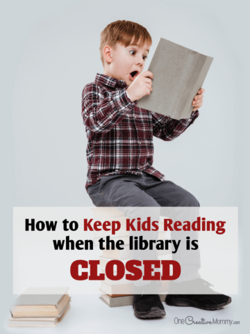Keep kids reading even when the library is closed
