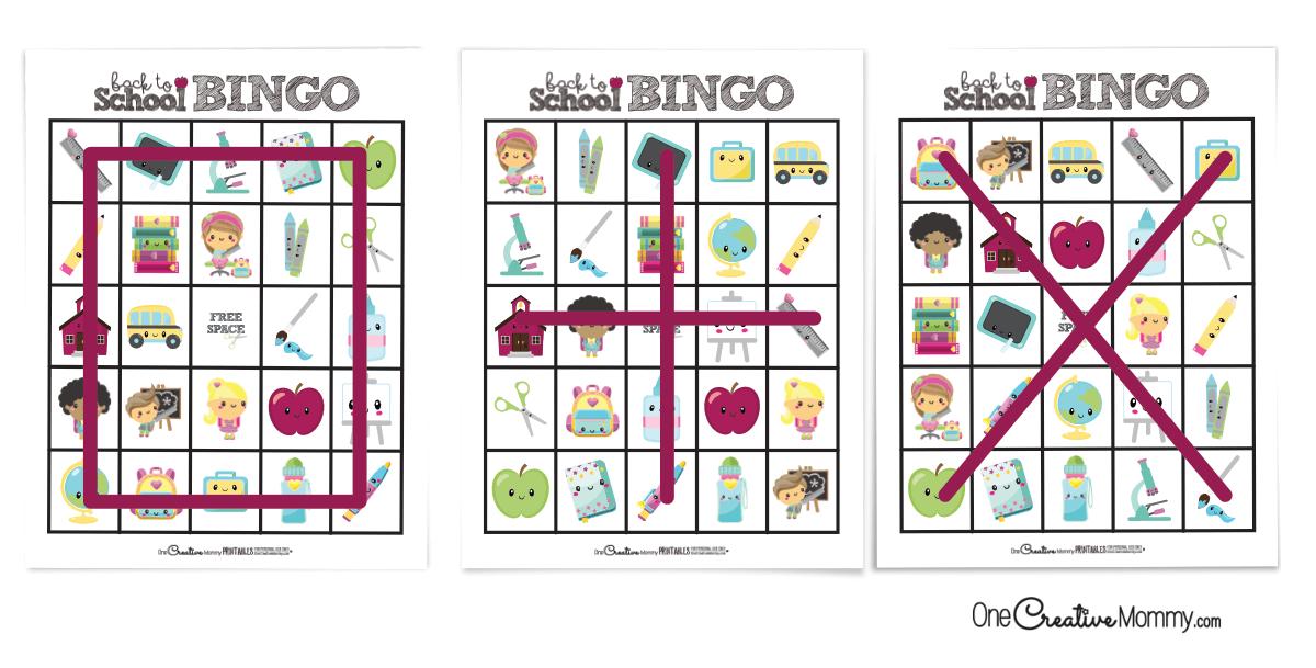 Alternate ways to play bingo