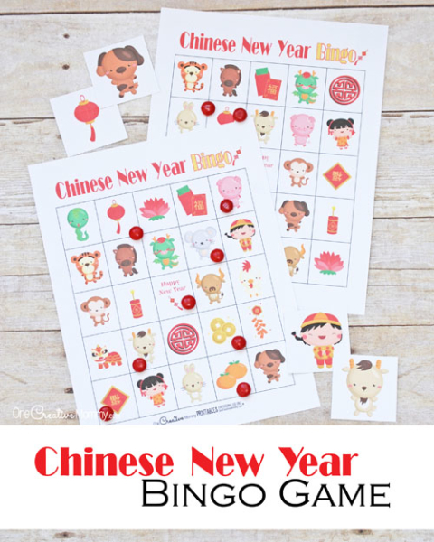 this chinese new year bingo game is perfect for the classroom or for fun at home